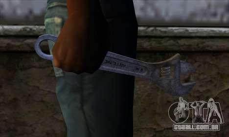 Chave para GTA San Andreas terceira tela