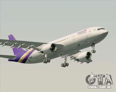 Airbus A300-600 Thai Airways International para GTA San Andreas vista inferior
