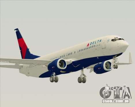 Boeing 737-800 Delta Airlines para GTA San Andreas