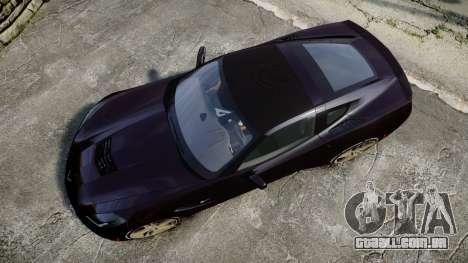 Chevrolet Corvette C7 Stingray 2014 v2.0 TireYA2 para GTA 4 vista direita