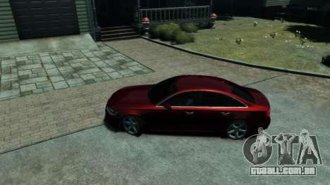 Audi A6 2012 para GTA 4 vista interior