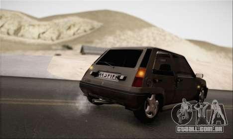 Renault 5 para GTA San Andreas vista direita