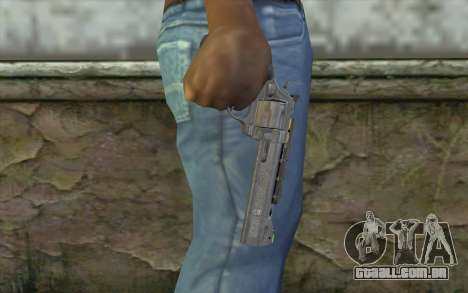 Magnum from COD: Ghosts para GTA San Andreas terceira tela