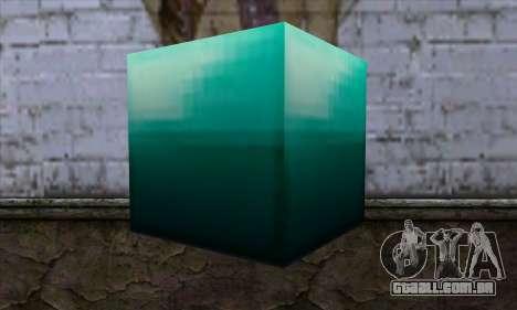 Bloco (Minecraft) v10 para GTA San Andreas segunda tela
