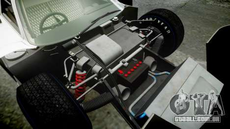 Ford GT40 Mark IV 1967 PJ 2 para GTA 4 vista superior