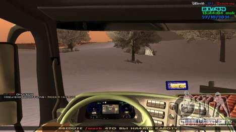 Mercedes-Benz Actros para GTA San Andreas vista direita