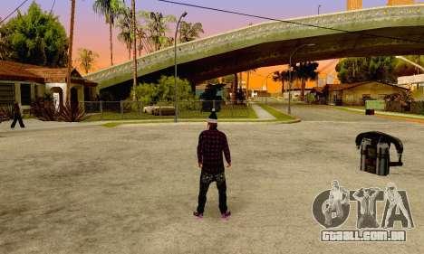 The Ballas Gang Skin Pack para GTA San Andreas por diante tela