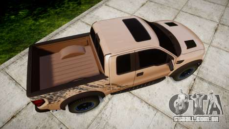 Ford F-150 Raptor para GTA 4 vista direita