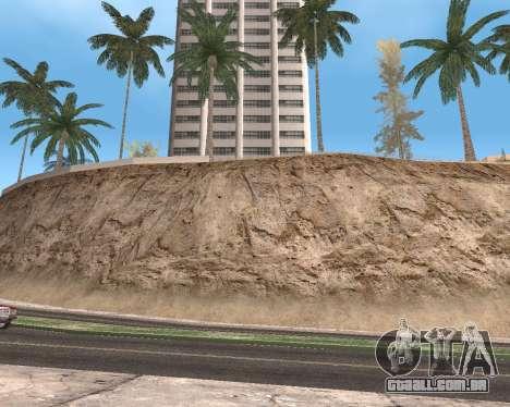 Textura Los Santos de GTA 5 para GTA San Andreas nono tela