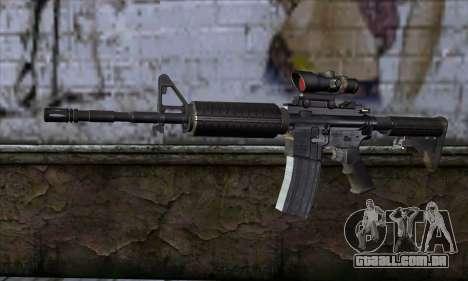 M4 Carbine ACOG para GTA San Andreas