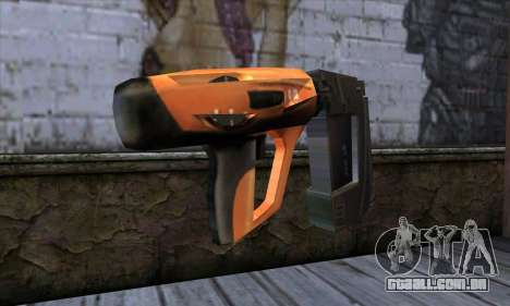 Nailgun from Manhunt para GTA San Andreas segunda tela