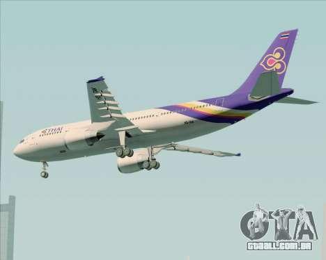 Airbus A300-600 Thai Airways International para GTA San Andreas vista direita