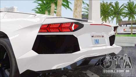 ENB Series HD v2 fracas e médias PC para GTA San Andreas quinto tela