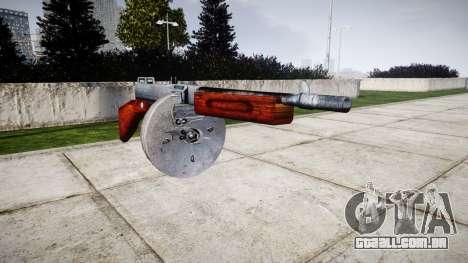 Submetralhadora Thompson M1A1 tambor icon1 para GTA 4