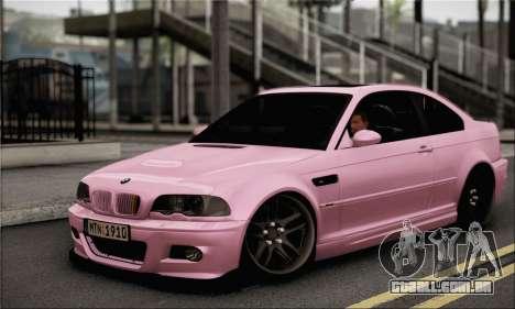 BMW M3 E46 StanceWork para GTA San Andreas