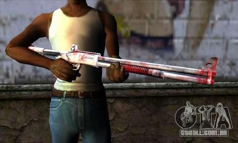 Chromegun Bloody para GTA San Andreas terceira tela