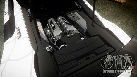 Audi R8 LMX 2015 [EPM] Sticker Bomb para GTA 4 vista lateral