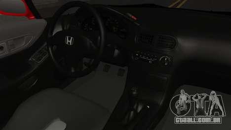 Honda CRX para GTA San Andreas vista direita
