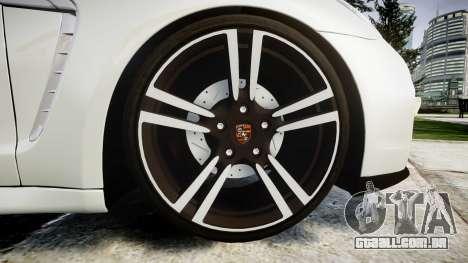 Porsche Panamera GTS 2014 para GTA 4 vista de volta