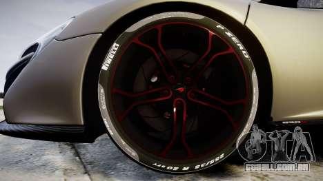 McLaren 650S Spider 2014 [EPM] v2.0 para GTA 4 vista de volta