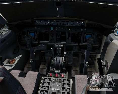 Boeing 737-800 Jet2Holidays para GTA San Andreas interior
