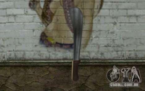 Machete (GTA Vice City) para GTA San Andreas segunda tela