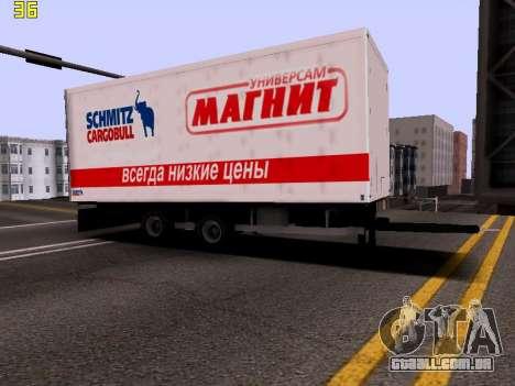 Trailer Magnit para GTA San Andreas vista direita