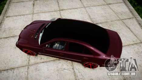 Mercedes-Benz W211 E55 AMG para GTA 4 vista direita