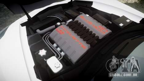 Chevrolet Corvette Z06 2015 TirePi1 para GTA 4 vista lateral