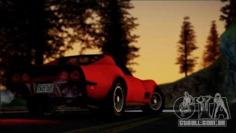 Grizzly Games ENB v1.0 para GTA San Andreas por diante tela