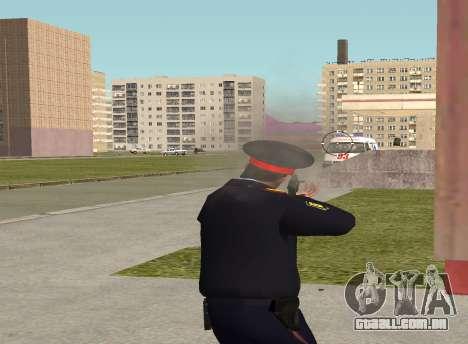 O sargento da polícia para GTA San Andreas quinto tela