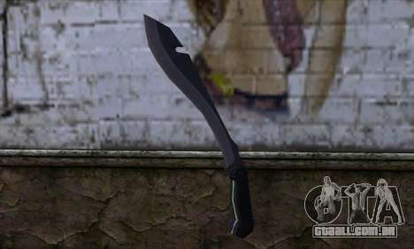 Machete from Far Cry para GTA San Andreas