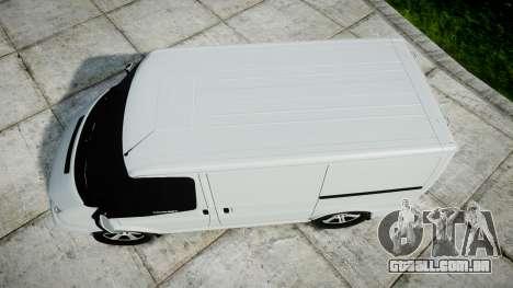 Ford Transit 2011 SuperSportVan para GTA 4 vista direita