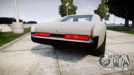 Imponte Dukes Supercharger para GTA 4 traseira esquerda vista