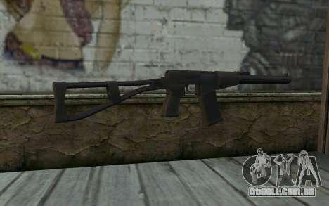 AU VAL (Battlefield 3) para GTA San Andreas segunda tela