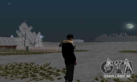 Casaco de inverno para GTA San Andreas segunda tela