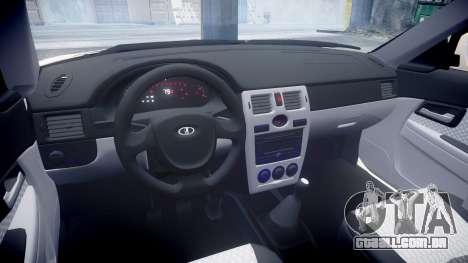 VAZ-2170 Priora stamping para GTA 4 vista interior