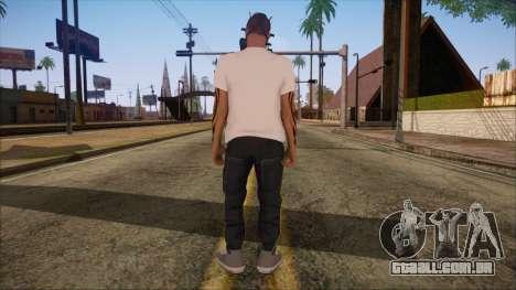 GTA 5 Online Skin 7 para GTA San Andreas segunda tela