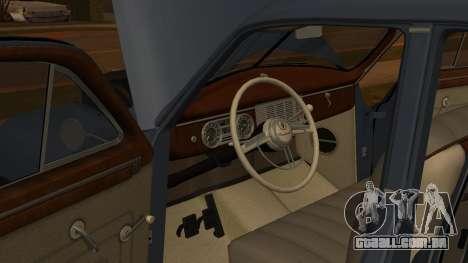 Packard Touring  Sedan para GTA San Andreas vista traseira