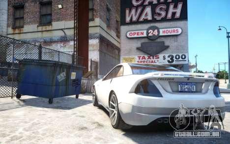 Benefactor Feltzer Grey Series v3 para GTA 4 traseira esquerda vista