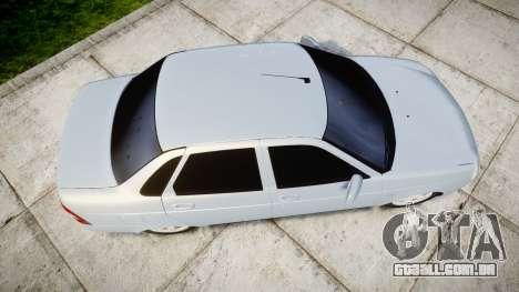 ВАЗ-Lada 2170 Priora Lâmpada para GTA 4 vista direita