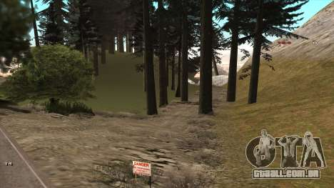 Трасса Offroad v1.1 por Rappar313 para GTA San Andreas segunda tela