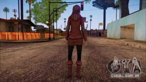 Modern Woman Skin 17 para GTA San Andreas segunda tela