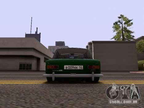 VAZ 2101 para GTA San Andreas vista direita