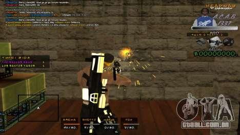 C- HUD A.C.A.B para GTA San Andreas terceira tela