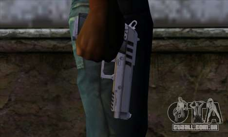 Pistol from GTA 5 para GTA San Andreas terceira tela