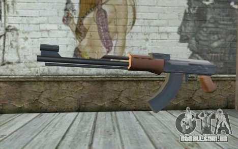 AK-47 Sem a Bunda para GTA San Andreas