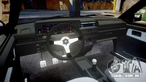 VAZ-2109 liga para GTA 4 vista interior