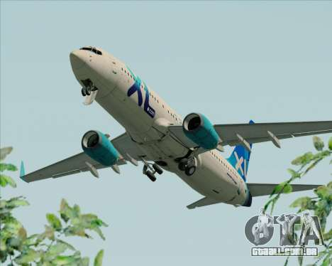 Boeing 737-800 XL Airways para o motor de GTA San Andreas