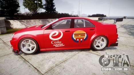 Albany Presidente Racer [retexture] eCola para GTA 4 esquerda vista